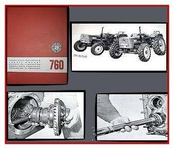Reparaturanleitung Steyr 760 + Allrad Werkstatthandbuch Stand 1971/72