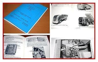 Multicar 21 Dieselameise Bedienungsanleitung 1961