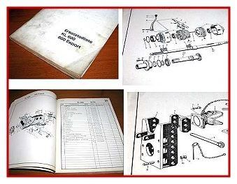 Kramer KL 600 + Export Ersatzteilliste 1962