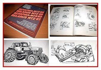 Werkstatthandbuch Belarus MTS 80 / MTS 82 Reparaturhandbuch