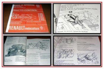 Renault R.3051, 7050, 7052, 7054,7055 Werkstatthandbuch