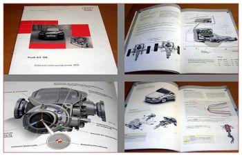 SSP 409 Audi A4 2008 B8 Konstruktion Funktion Selbststudienprogramm 2007