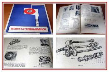 Zetor 2511, 3511, 4511 Werkstatthandbuch 1970