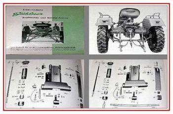 Güldner Kraftheber / Geräte Anbau Ersatzteilliste