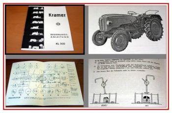 Kramer KL 300 Schlepper Bedienungsanleitung 1962