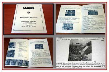 Kramer KL 250, KW 280, KLD 330 Kraftheber Handbuch