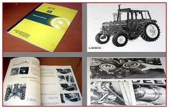John Deere 1040, 1140 Traktor Betriebsanleitung