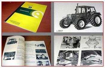 John Deere 2140 Traktor Betriebsanleitung