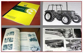 John Deere 1640 1840 2040 Traktor Betriebsanleitung