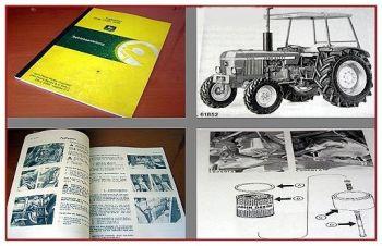 John Deere 1030, 1130, 1630 Traktor Betriebsanleitung