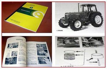 John Deere 3040, 3140 Traktor Betriebsanleitung