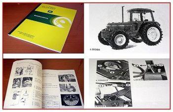 John Deere 1640 2040 2040S Traktor Betriebsanleitung Bedienungsanleitung Wartung