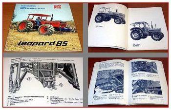 Same Leopard 85 Bedienungsanleitung & Instandhaltung 1978