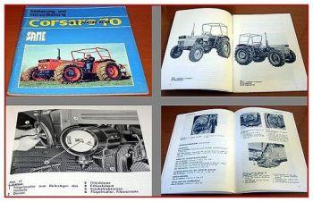 Same Corsaro 70 synchro Bedienung & Instandhaltung 1978