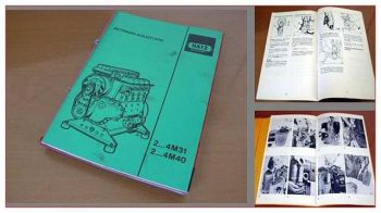 Hatz 2M31 - 4M40 Dieselmotor Betriebsanleitung 1991