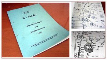 E-Flor EDE Rasenmäher Ersatzteilkatalog 1997