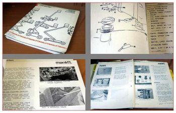 Chamberlain MZ46 parts book / Service manual 1979