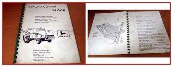 John Deere X40 - X70 Häcksler Anbau- Betriebsanleitung
