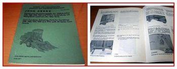 John Deere 930 - 970 Maisdrusch Betriebs-Anbauanleitung