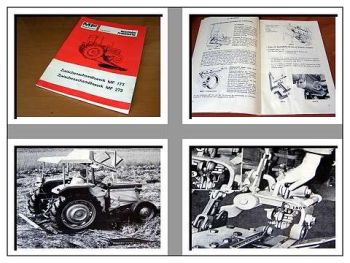 Massey Ferguson MF 133 135 148 bis 165 Handbuch Mähwerk