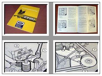 Ford 2722 bis 2728 Dieselmotoren Betriebsanleitung 1987