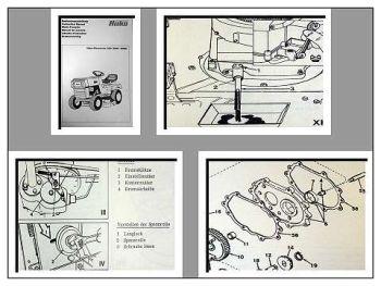 Hako 800 Rasentrac (8107, 8109) Bedienung & Ersatzteile