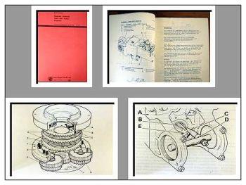 David Brown 1212, 1412 Reparaturhandbuch Getriebe