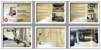 Linde E10 E12 E15 Gabelstapler Betriebsanleitung