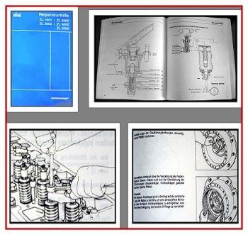 Werkstatthandbuch Zettelmeyer ZL 1801 2002 3002 4002 5002 Reparaturhilfe