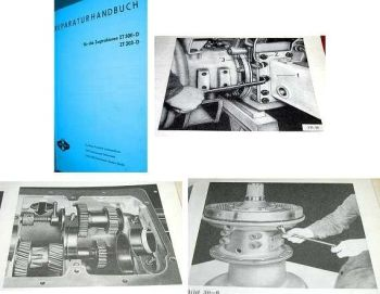 ZT 300D  ZT 303D Werkstatthandbuch 1980
