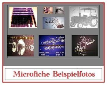 Fiat 115-90 + Diamant Allrad Ersatzteilliste Microfich