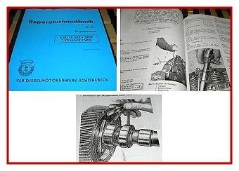 6VD 14,5/12-1SRW + 3VD 14,5/12-1 SRW Werkstatthandbuch