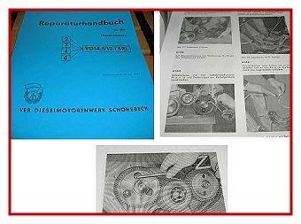 2/3/4/6VD 14,5/12-1 SRL Dieselmotor Werkstatthandbuch
