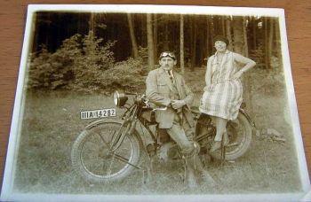 Ardie Motorrad Kraftrad Foto um 1925/30