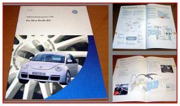 SSP 258 VW New Beetle RSi mit 3,2l V6 AXJ Motor 2001 Selbststudienprogramm