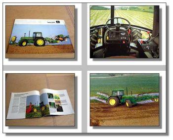 John Deere 3640 Traktor Schlepper Prospekt 1985