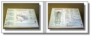 Lloyd LP LC LS 600 LT6  LT5 LTK600  Original Schmier und Wartungsplan Shell