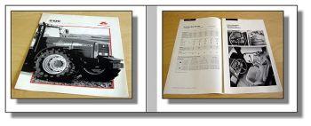 Massey Ferguson 8110 8120 8140 8150 8160 technische Daten 1995