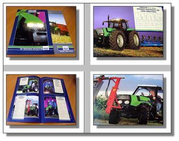 Deutz Fahr Programm 2 Prospekte 1996/2011