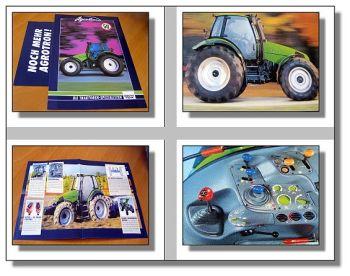 Deutz Agrotron 6.00 6.05 6.15 6.20 Traktor Prospekt 97