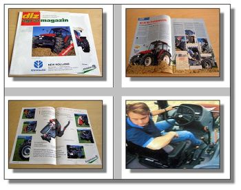 New Holland TL90 im Test Sonderdruck dlz agrarmagazin
