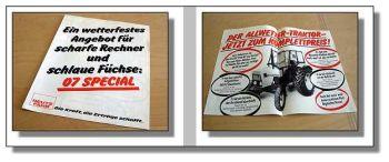 Deutz D5207 D6007 D6507 Special Traktor Prospekt 1983