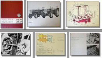Werkstatthandbuch Steyr 40, 50,  540, 650 Traktor Reparaturhandbuch