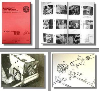 Werkstatthandbuch Steyr 8055 8060 8070 Reparaturhandbuch Getriebe TW337