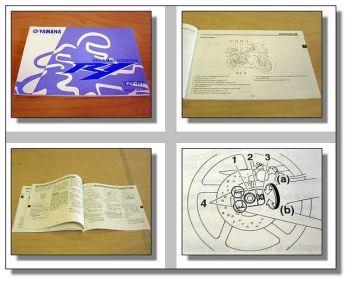 Yamaha YZF-R1 uso e manutenzione Fahrerhandbuch 2004