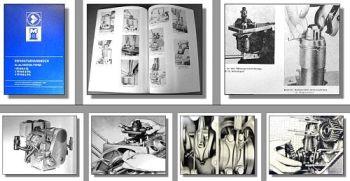 IFA 1/2/4 VD8/8-2 SL / SVL Motor Werkstatthandbuch