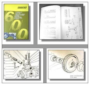 Fiat 600 Schlepper Ersatzteilkatalog