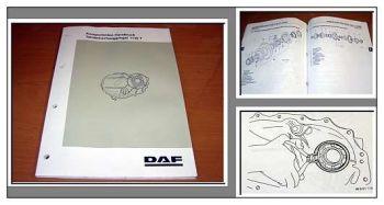 DAF F65 F75 F85 F95 Achsaggregat 1132 Werkstatthandbuch
