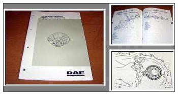 DAF F65 F75 F85 F95 Hinterachse 1339 Werkstatthandbuch