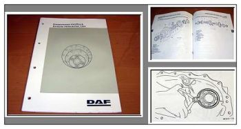 DAF F65 F75 F85 F95 Hinterachse 1354 Werkstatthandbuch